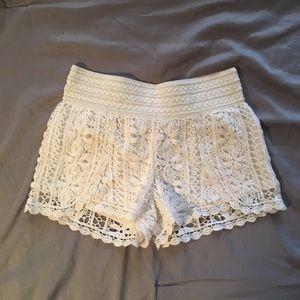 Rewind Crochet Shorts